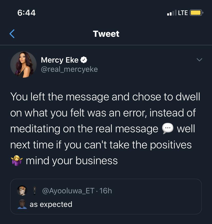 Mercy Eke
