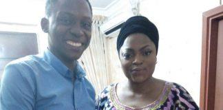 Tobi Makinde and Funke Akindele-Bello