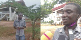 The alleged rapist, Mr Ekenta