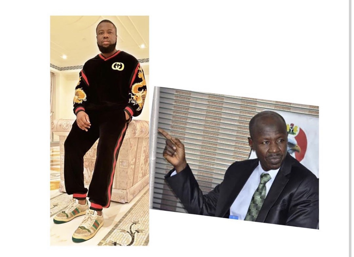 Hushpuppi and Ibrahim Magu