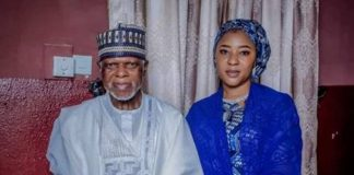 Hammed Ali and wife