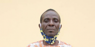 The suspect, Chukwudi Odo