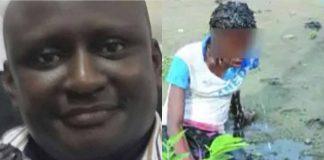 James Onuoha and the victim