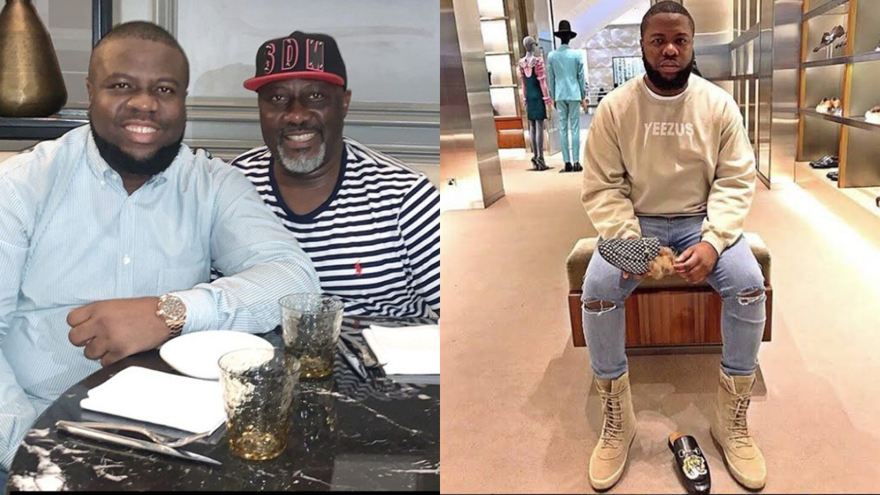 Photo of Dino Melaye and Hushpuppi