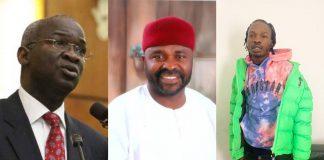Photo of Fashola, Execujet MD and Nairamarley