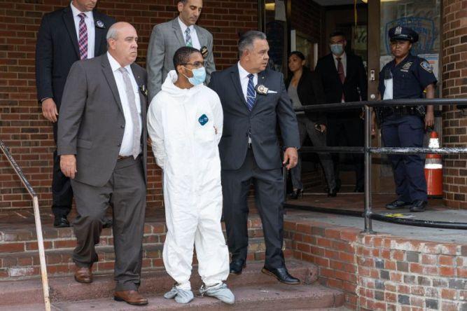 Tyrese Devon Haspil in handcuffs