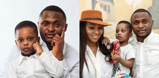 Ubi Franklin, Lilian Esoro and their son
