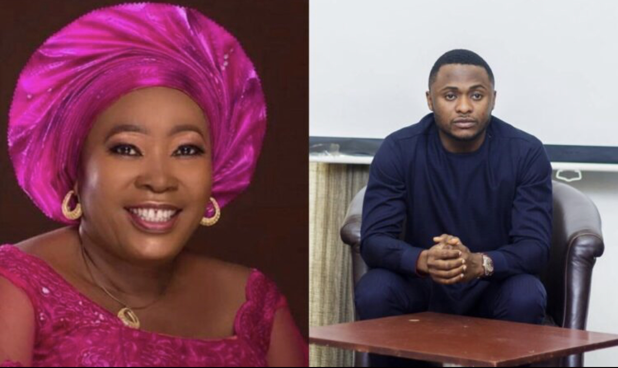 Ubi Franklin and his aunt