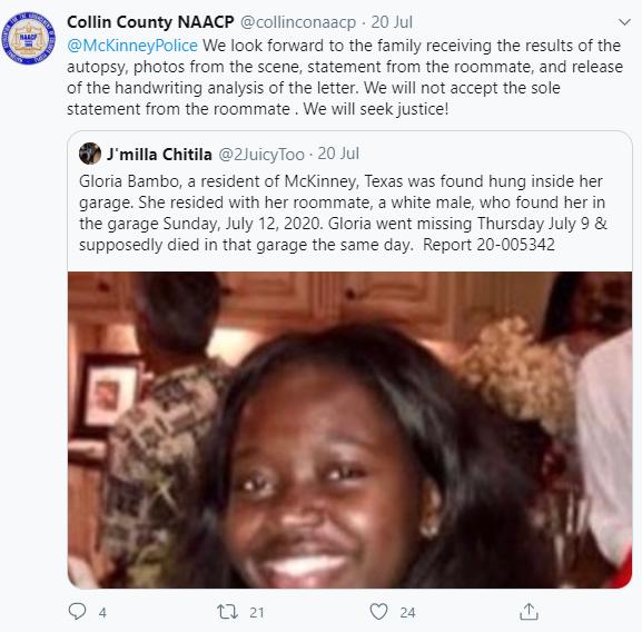 Black Woman Found Dead