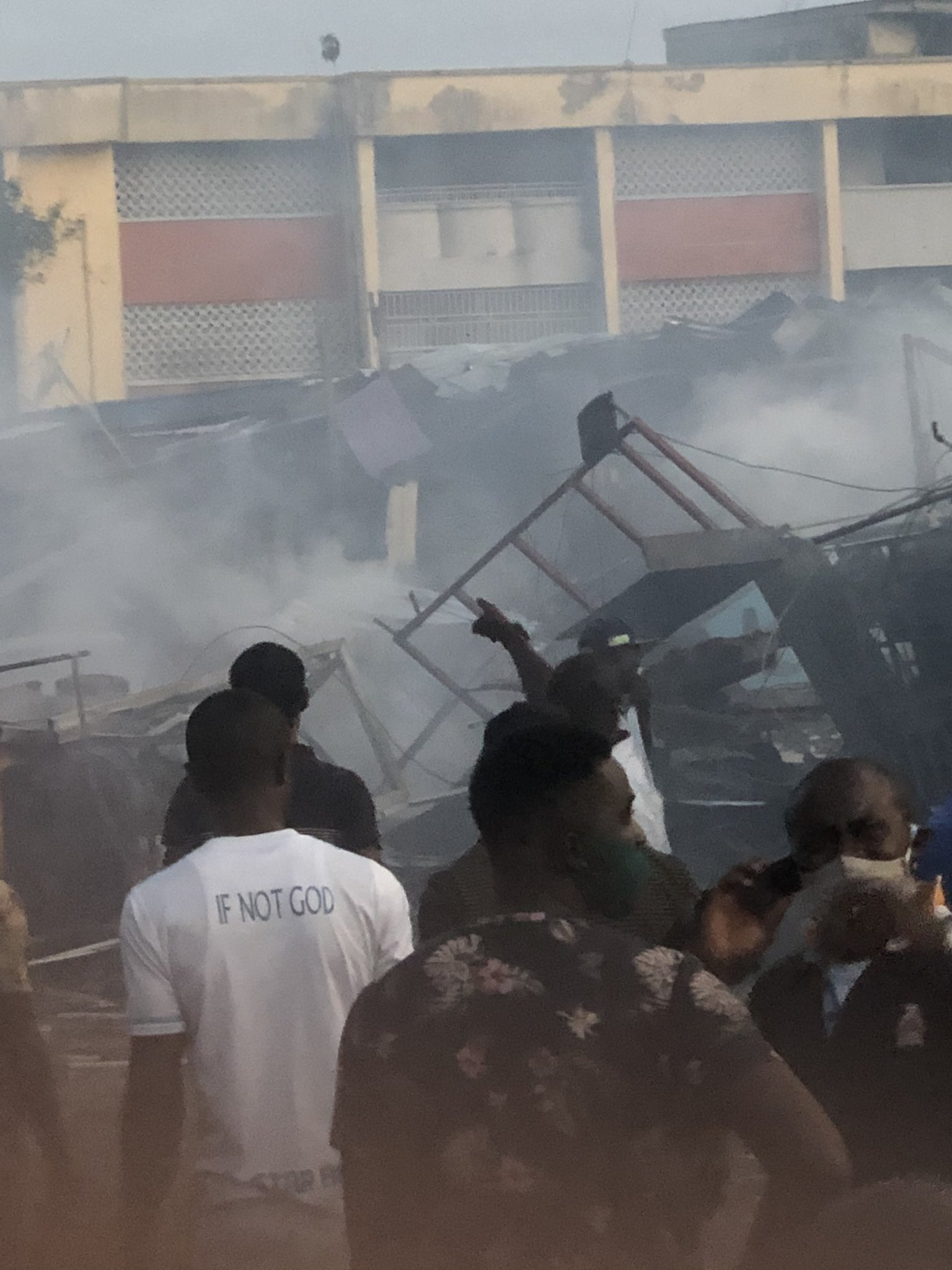Ajao Estate as Explosion