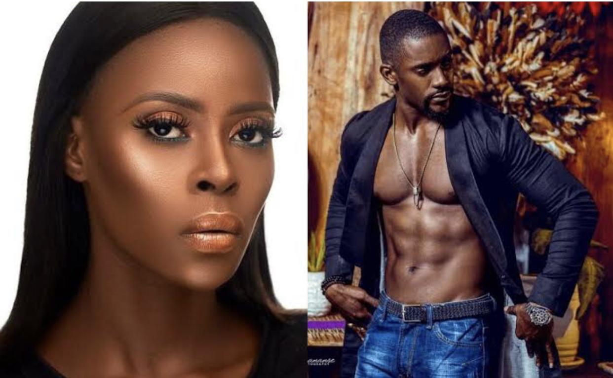 BBNaija star, Khloe and Mawuli Gavor