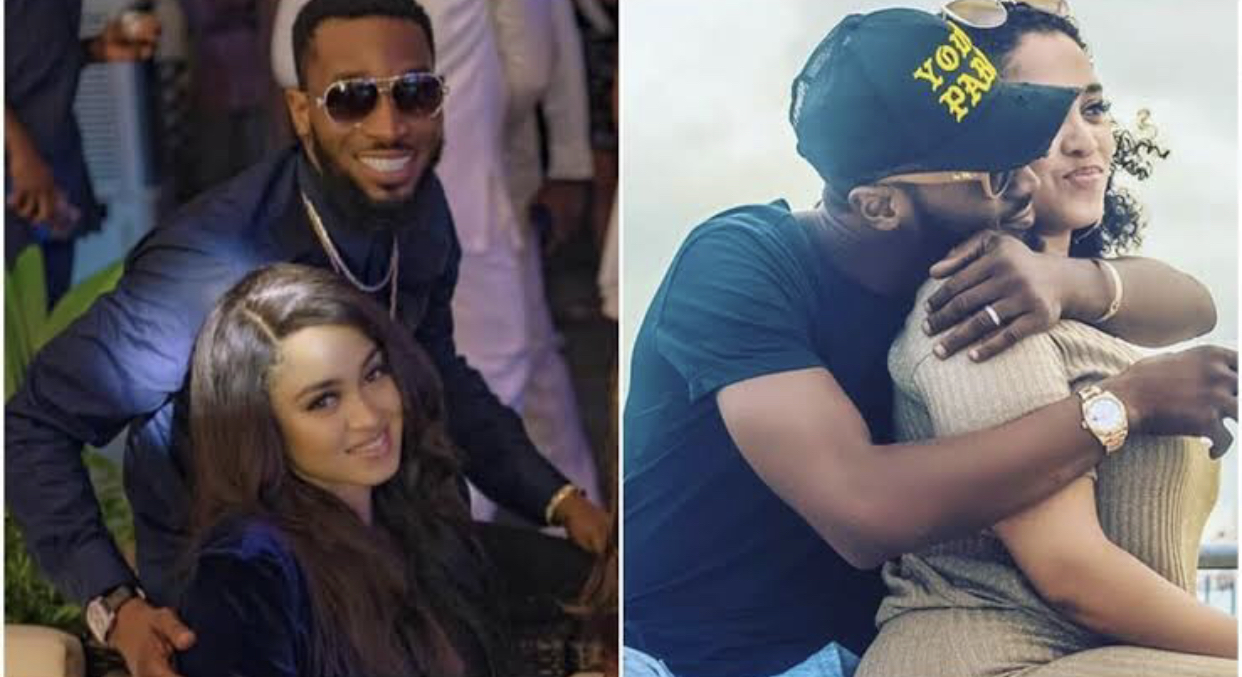 D'Banj and his wife