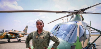 Nigerian Air Force's First Female Combat