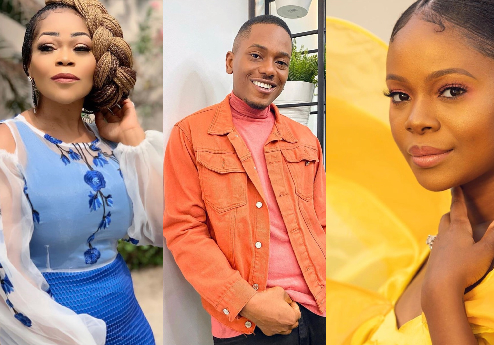 Shaffy Bello, Timini Egbuson, Zainab Balogun