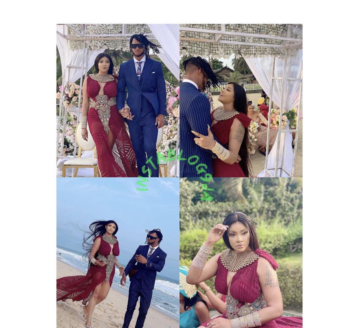 Photos of the couple