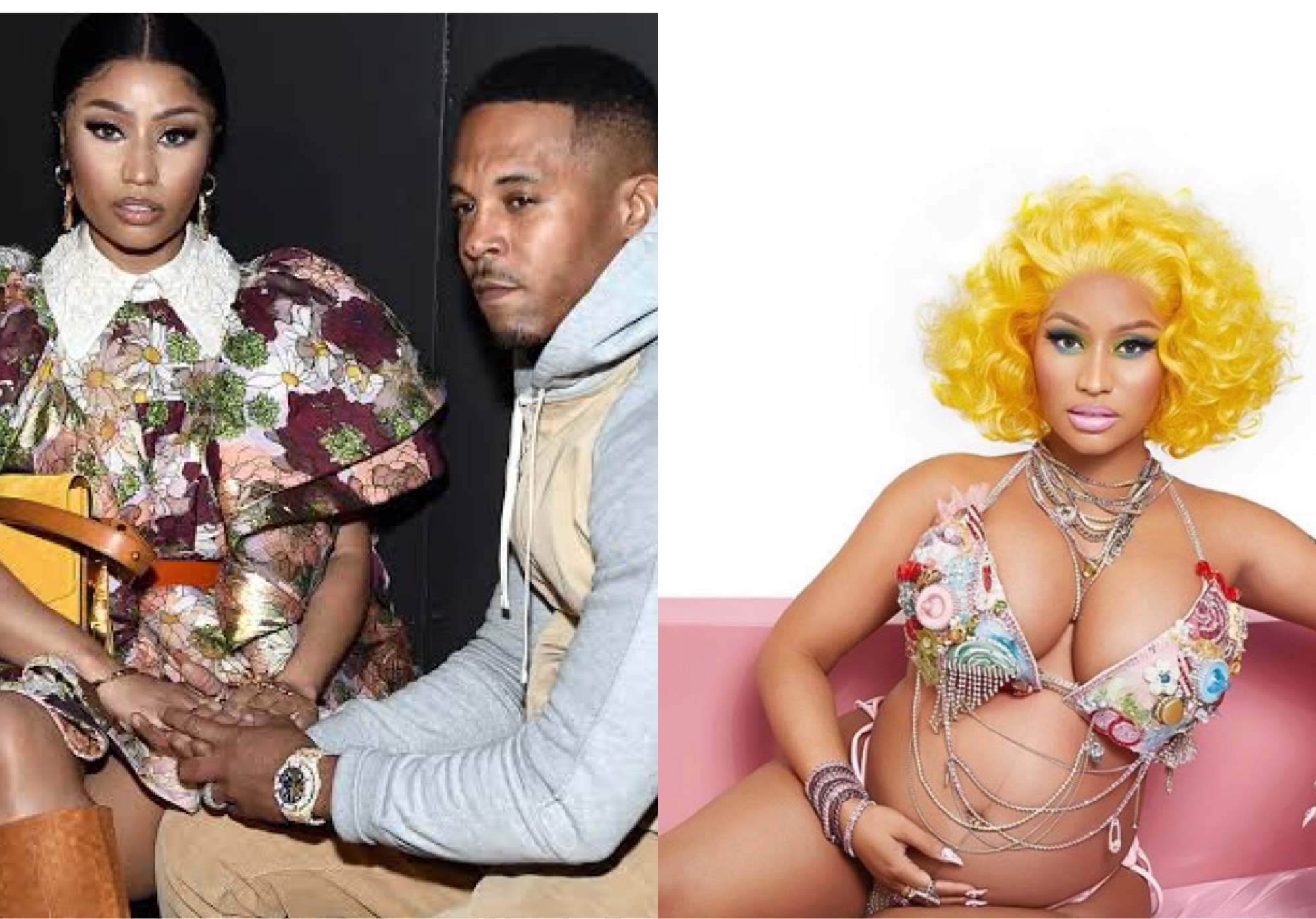 Nicki Minaj and her husband, Kenneth Petty