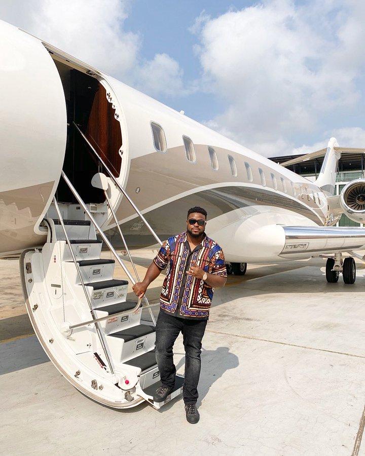 Adewale Adeleke and the new jet