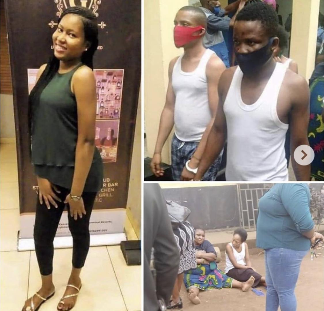 Uwaila Vera Omozuwa and the suspected killers
