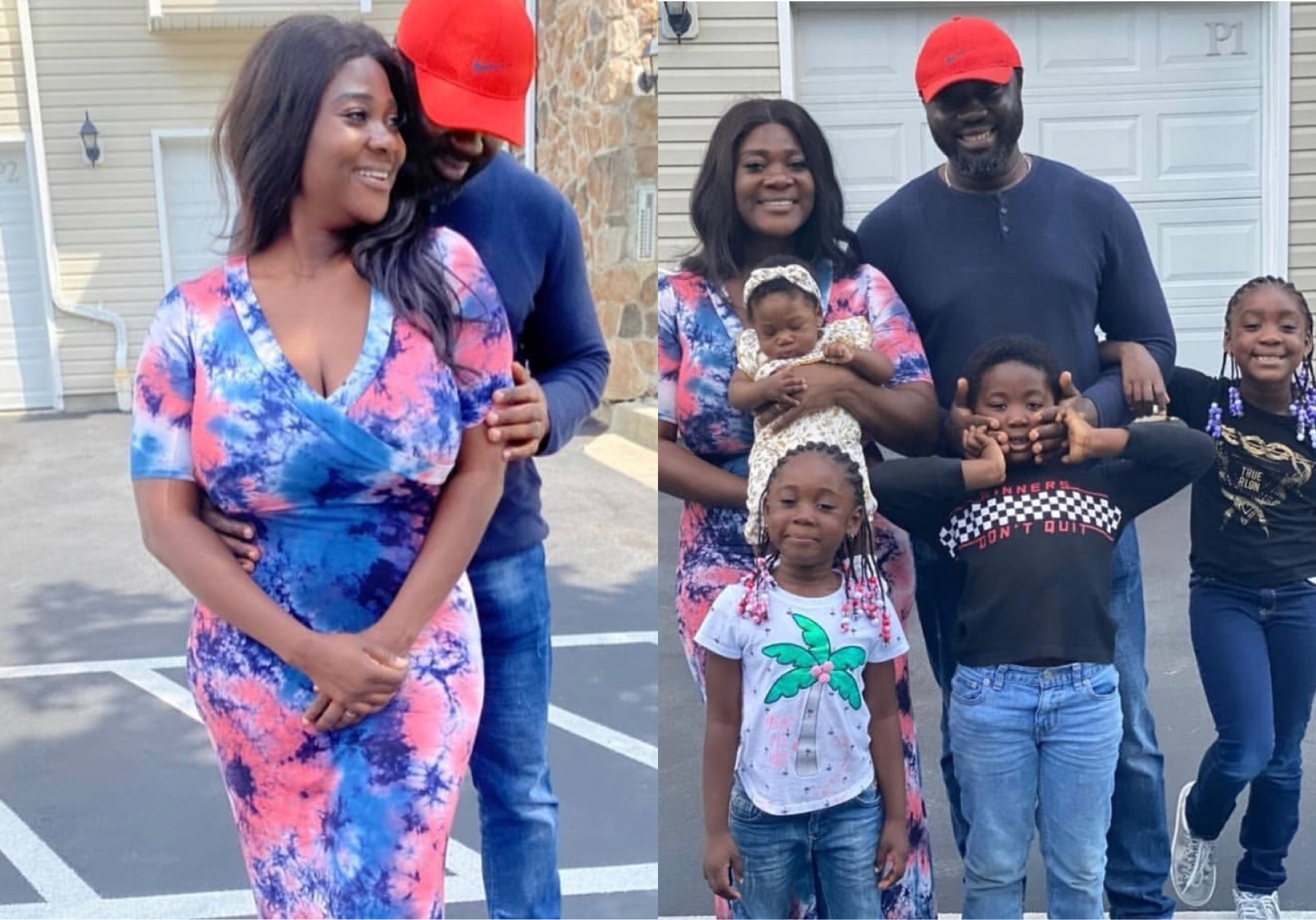 Mercy Johnson-Okojie and her family