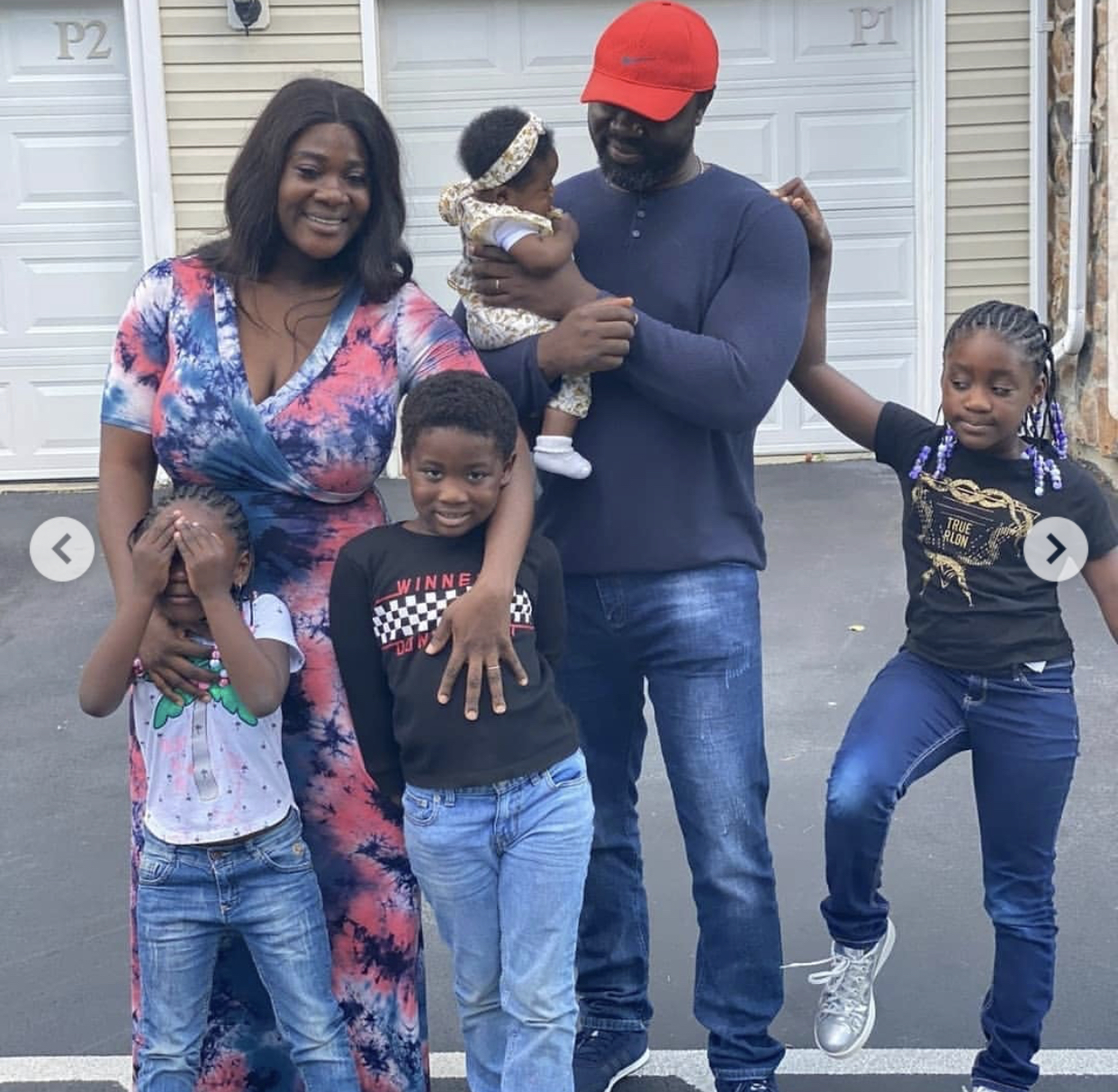 Mercy Johnson-Okojie and her family