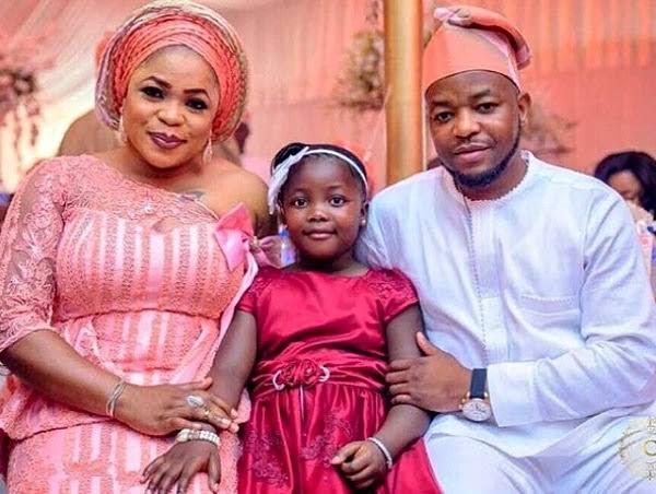 Kemi Afolabi, her husband and their daughter