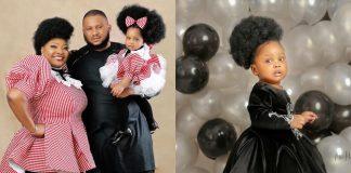 Ronke Odusanya and her family