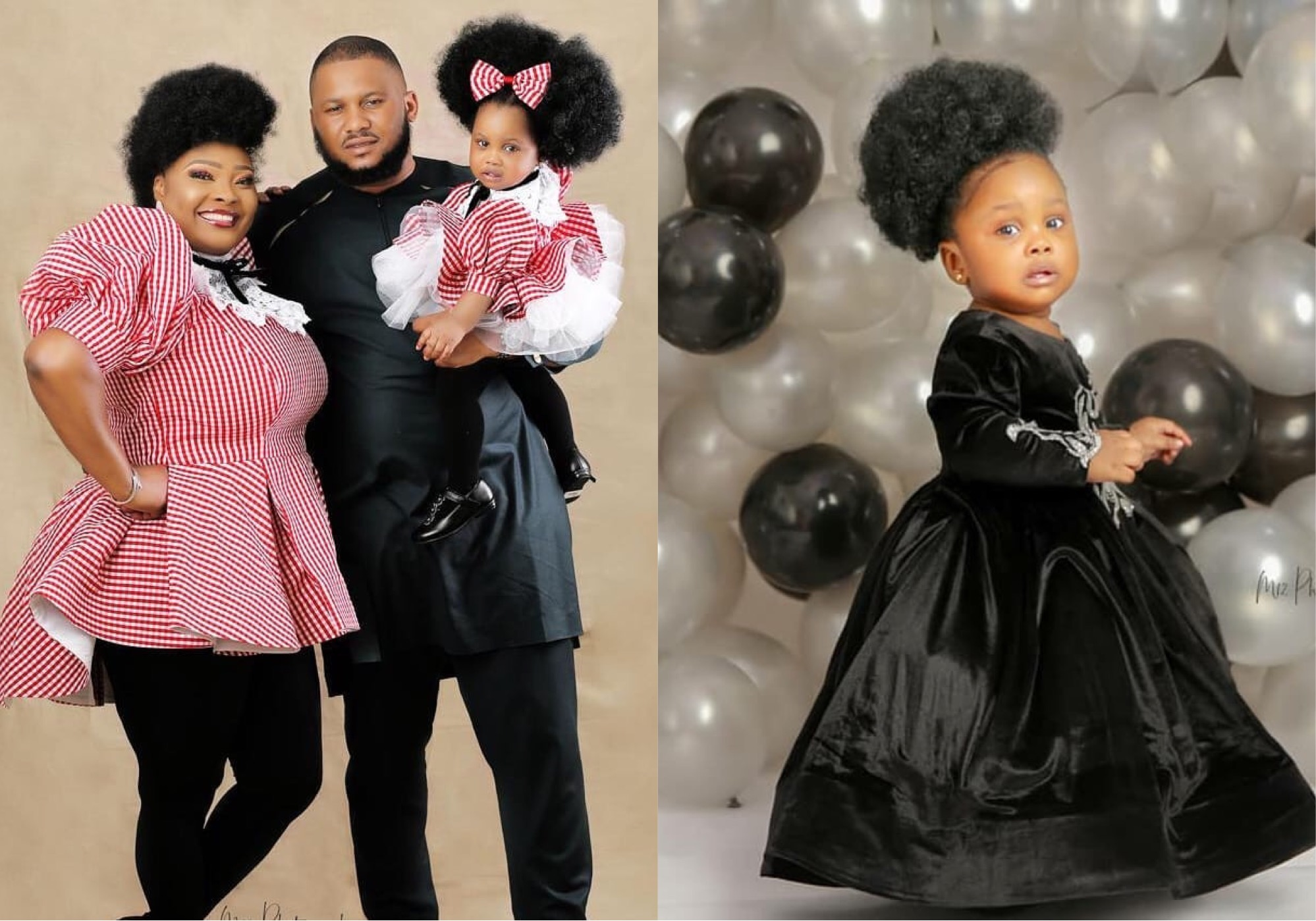 Ronke Odusanya and her family