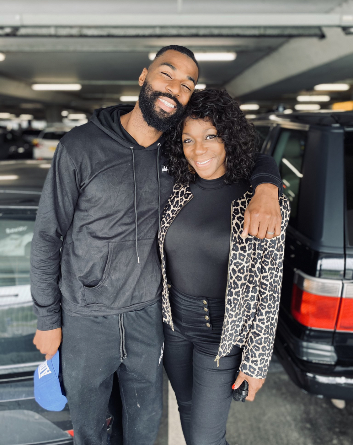 BBNaija's Mike Edwards and his mother