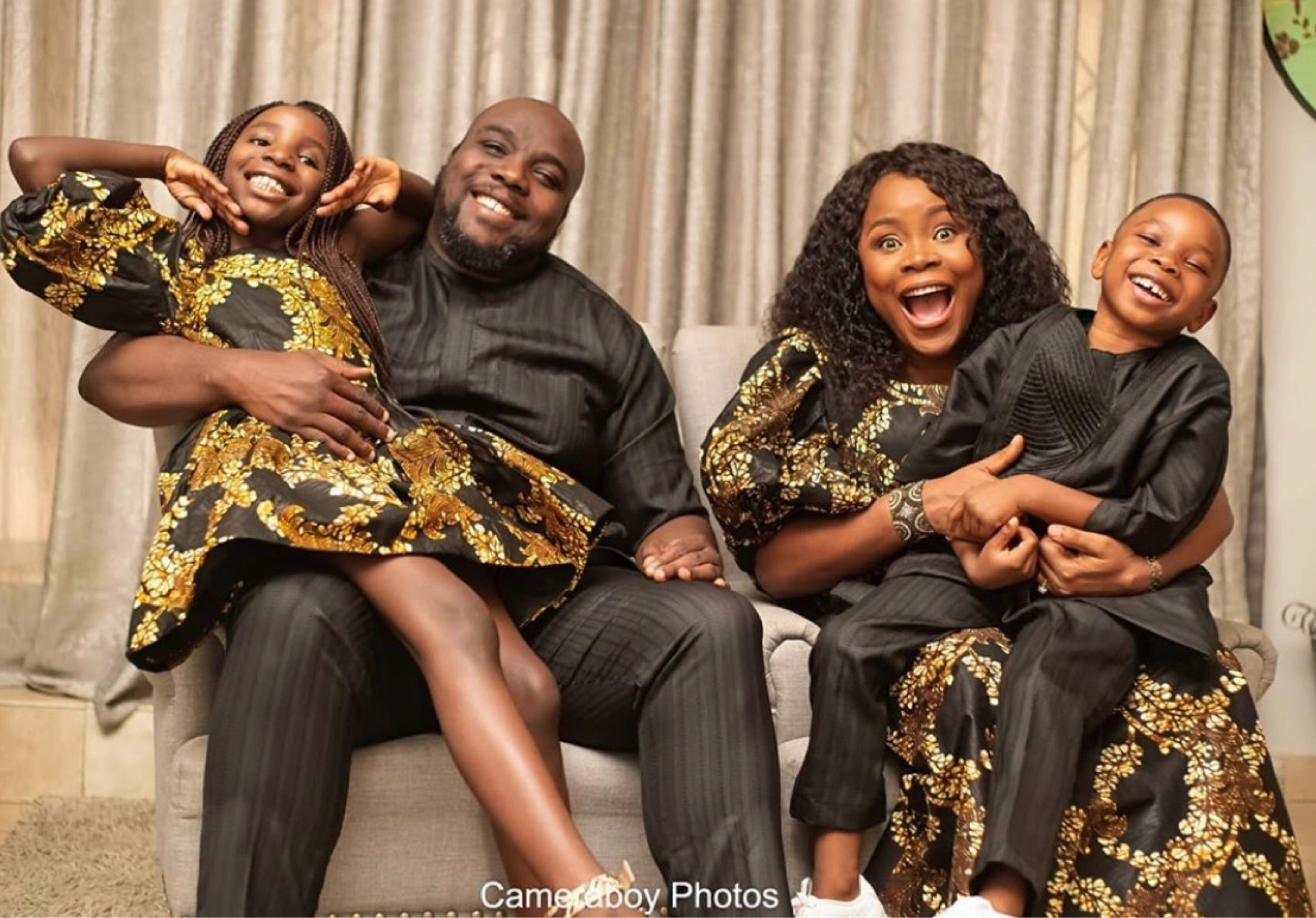 Omawumi and her family