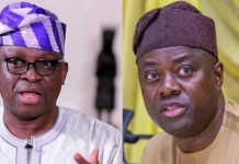 Stop Disrespecting Me Or I Will Work Against You, Fayose Threatens Makinde