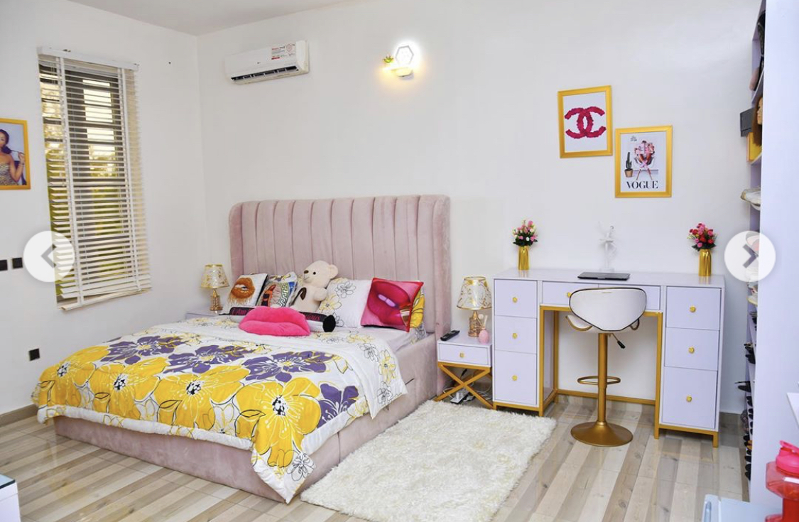 Her daughter's bedroom