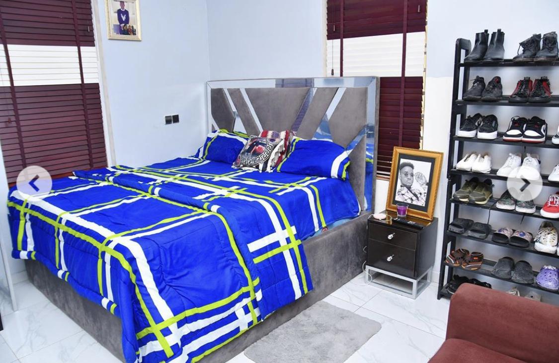 Her son's bedroom