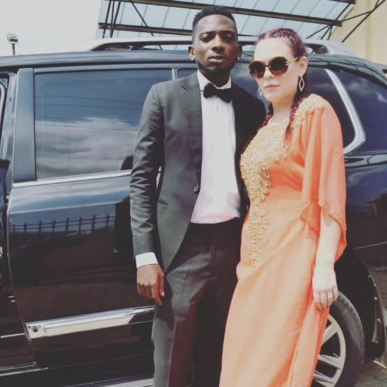 May D and his ex-wife