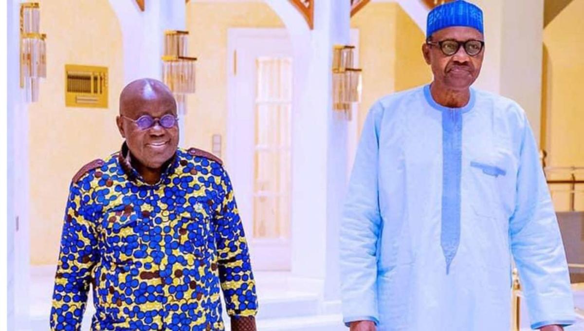 President Nana Akufo-Addo and President Muhammadu Buhari