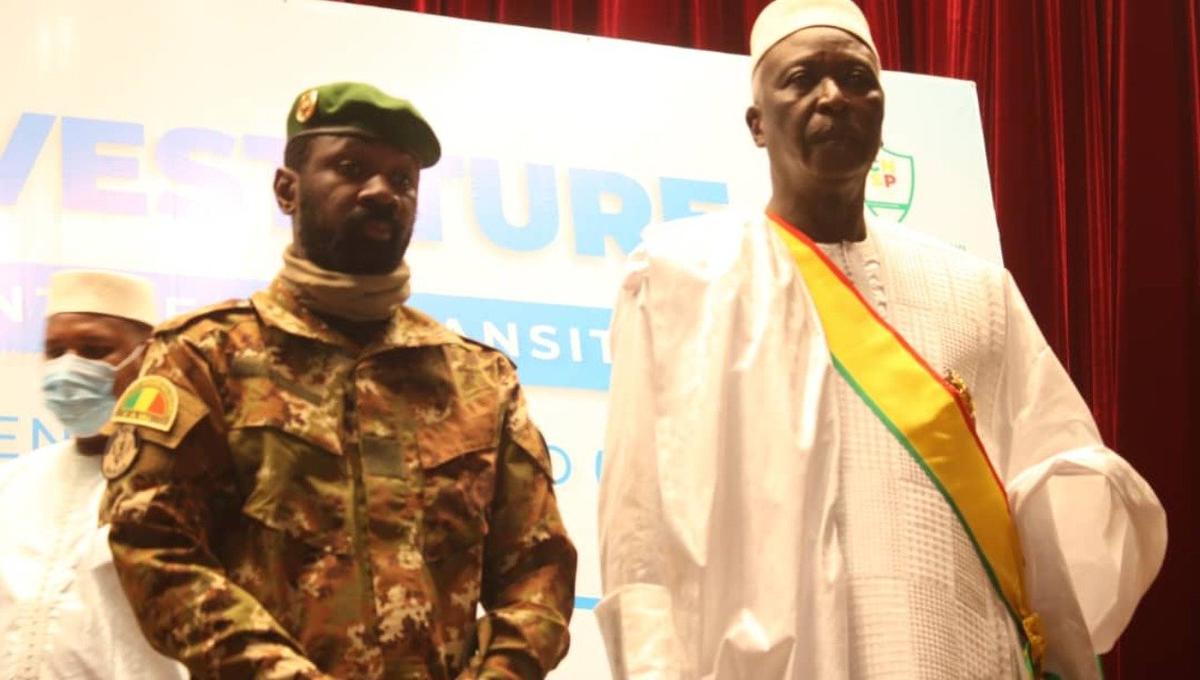 President of Mali, N'Daw, coup leader, Goita