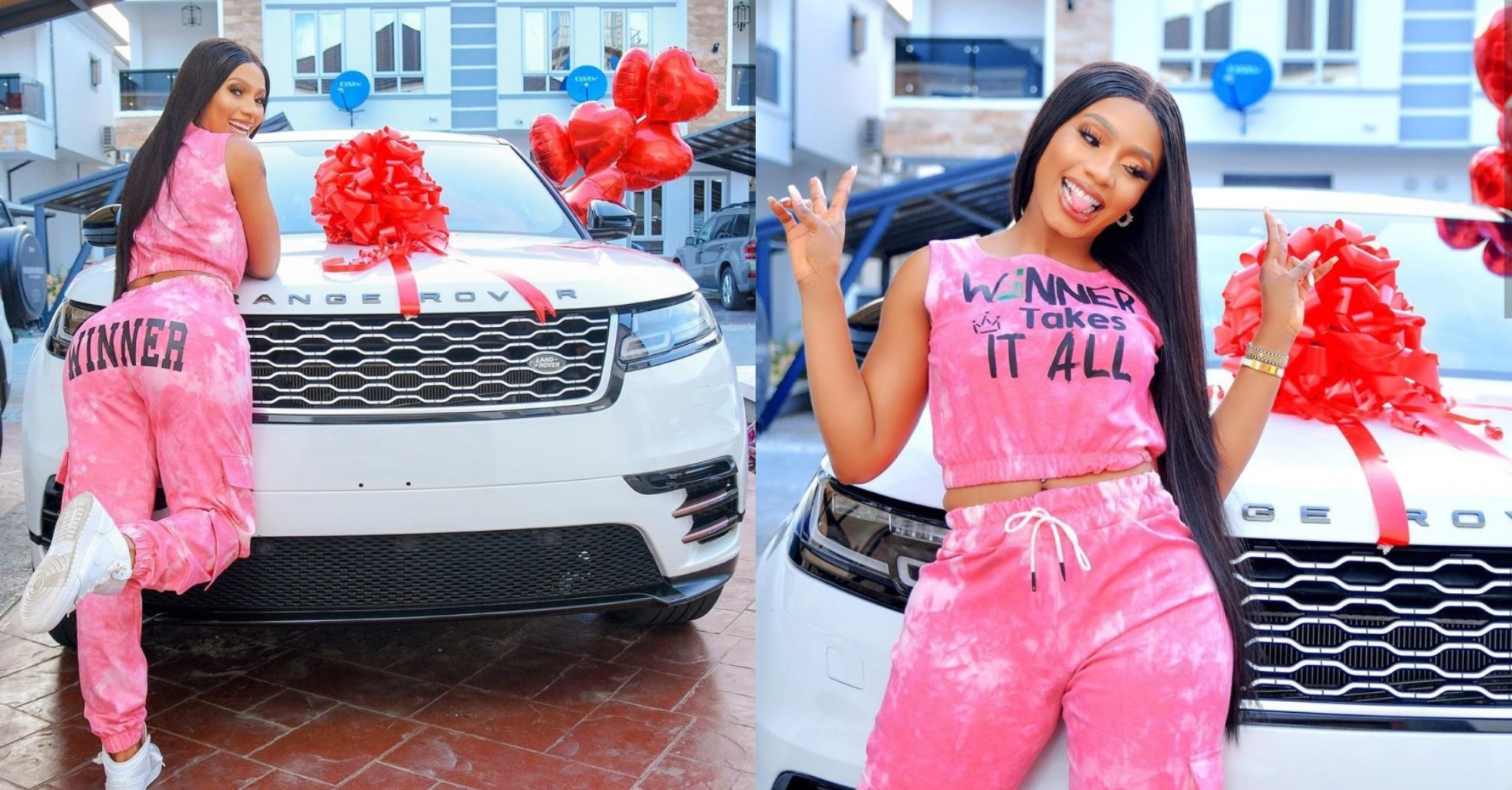 Fans gift Mercy Eke a plot of land in Lekki for her 27th birthday (Video)