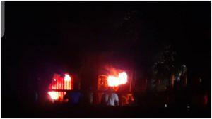 Ondo INEC office on fire