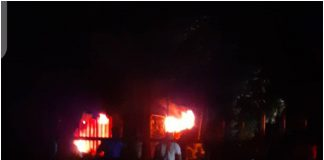Ondo INEC office on fire