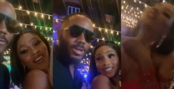 """Kill me, choke me"" – Mercy Eke tells Kiddwaya during her birthday party (Video)"