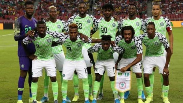 Super Eagles Move Up Two Places In September FIFA Rankings