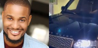Alexx Ekubo Gets Range Rover SUV As Surprise Gift From Friend