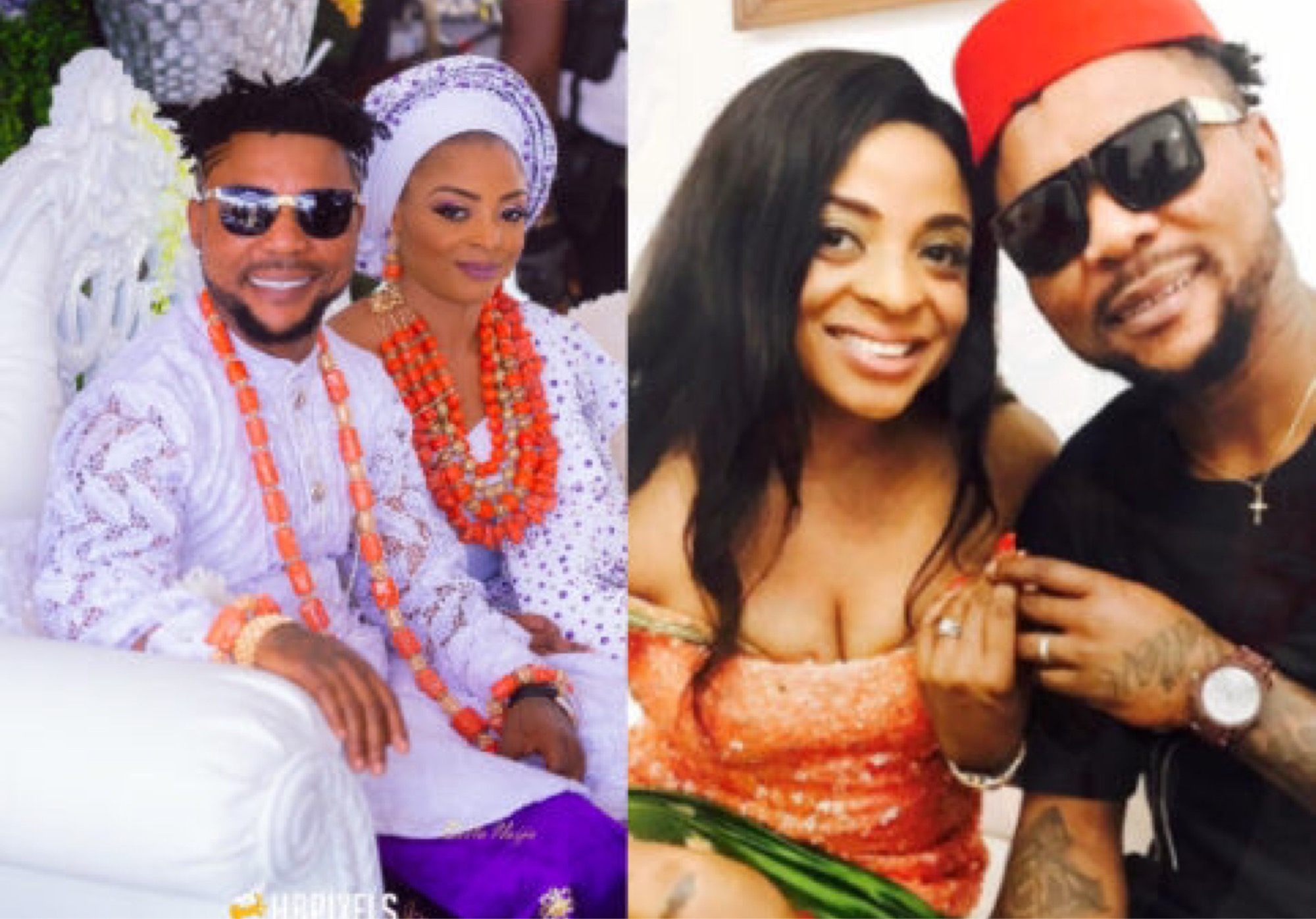 Singer, Oritsefemi Publicly Apologizes To His Wife For Physically Abusing Her