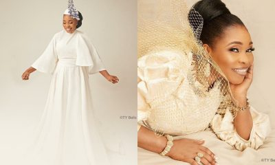 Gospel Singer, Tope Alabi Celebrates Her 50th Birthday With Lovely Photos