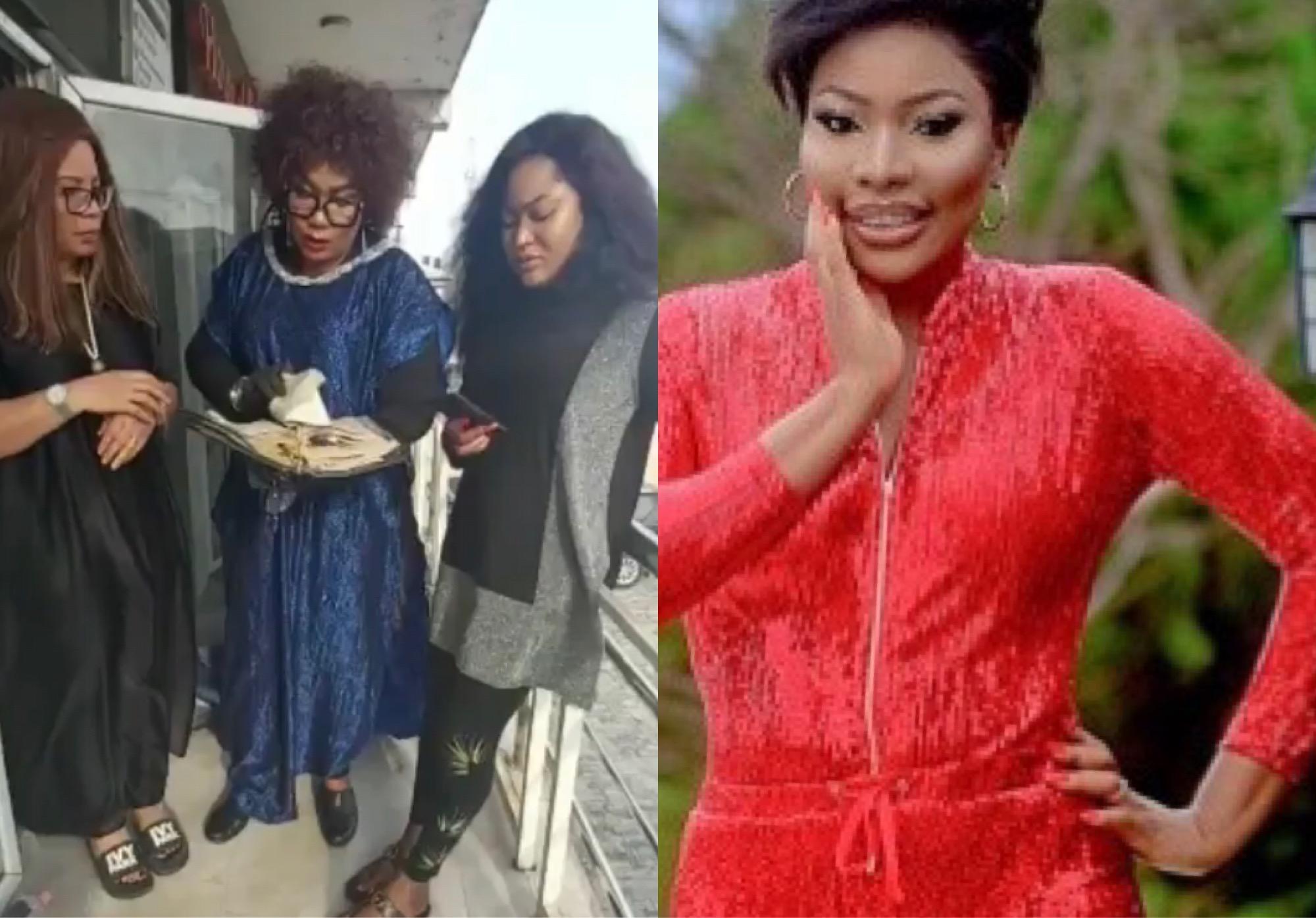"""May You Never Set Up A Shop"" - Eucharia Anunobi Blasts Doris Ogala For Accusing Uche Elendu Of Lying"
