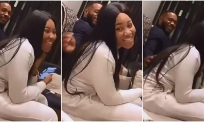 BBNaija's Erica, Kiddwaya Set Tongues Wagging With New Video