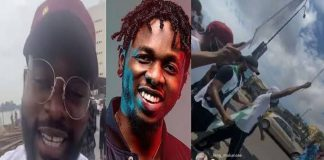 'Runtown And Falz Are The Real Men' - Nigerians Hail Musicians Over #EndSARS Protest