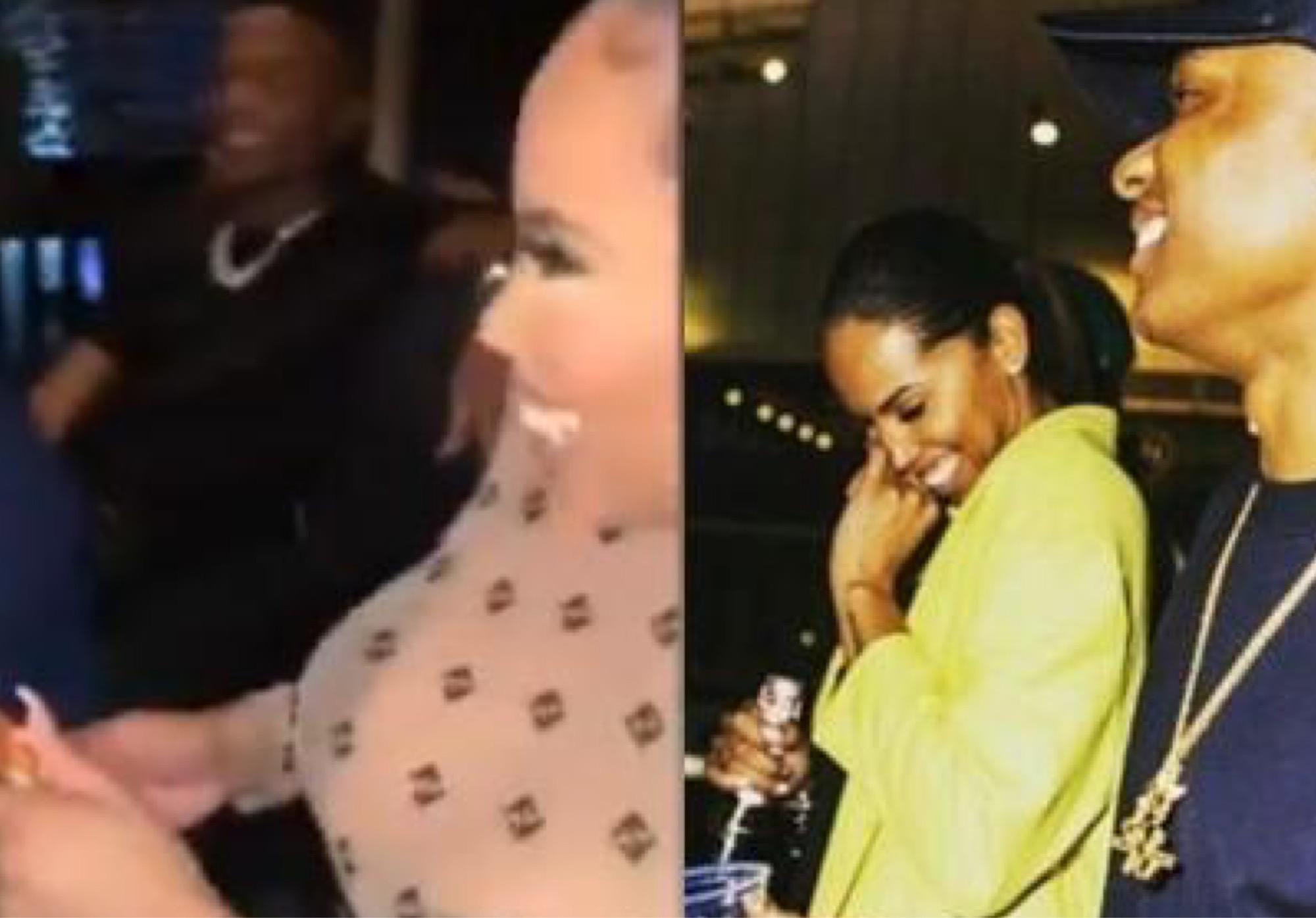 Wizkid Spotted At His Babymama's Birthday Party (Video)