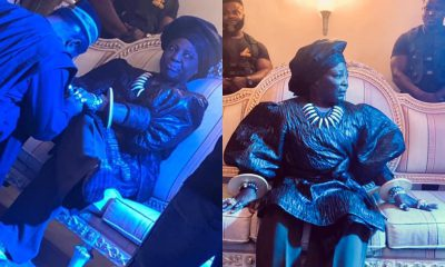 Charly Boy Channels His Feminine Side; Wears Blouse And Gele (Photos)