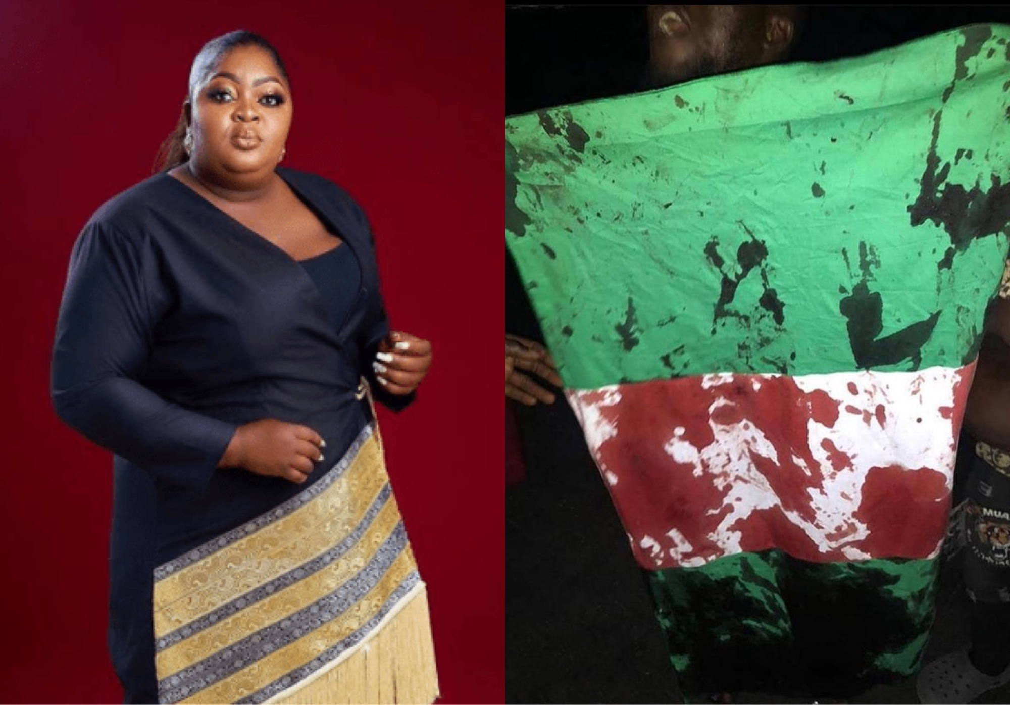Actress Eniola Badmus Debunks Reports That She Was Shot During Lekki Tollgate Gun Attack