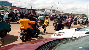 #EndSARS Protest Turns Violent In Osun